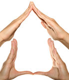 Hand Home Stock Image