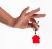 Hand house Stock Photos