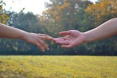 hand humanen Arkivbild