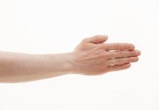 hand humanen royaltyfria foton