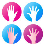Hand icon Royalty Free Stock Photos