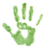 Hand impression Royalty Free Stock Images