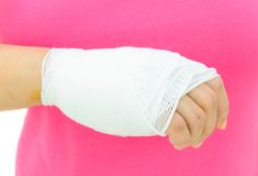 Hand injury Royalty Free Stock Photo