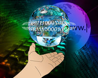 Hand of Internet Stock Images