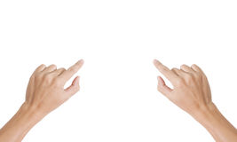 Hand isolated Stock Images