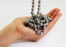 Hand with jewelery Stock Image