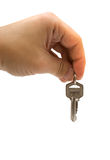 Hand with keys Royalty Free Stock Photos