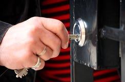 Hand with keys  Royalty Free Stock Photo