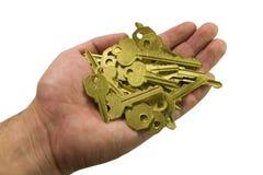 Hand and keys I Stock Photo