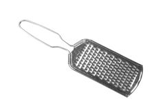 A hand kitchen grater on a white Royalty Free Stock Photos