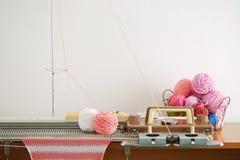 Hand Knitting Machine. Stock Image