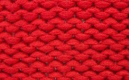 Hand knitting - plain stitch Stock Images