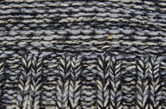 Hand knitting from woolen threads Royalty Free Stock Image