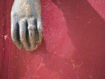 hand knocker belves-france-dordogne-em10-70-300mm-20150724-P7240016.jpg Royalty Free Stock Photos