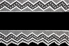 Hand lace white Royalty Free Stock Photography