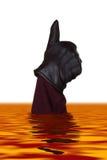 hand lava Arkivfoto