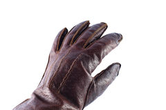 Hand Leather Glove Royalty Free Stock Photos