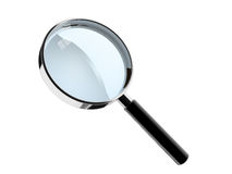 Hand lens Royalty Free Stock Image
