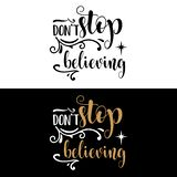 Hand lettering Christmas quote vector illustration