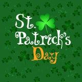 St.Patricks Day Lettering vector illustration