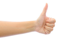 Hand like concept Stock Photography