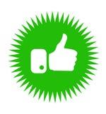 Hand Like Icon royalty free stock image