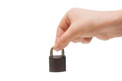 Hand and lock Stock Photos