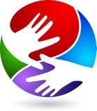 Hand logo Royalty Free Stock Photo