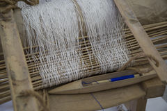 Hand loom Royalty Free Stock Images