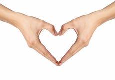 Hand Love Stock Photo