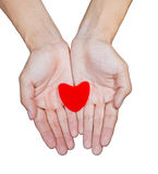 Hand Love Stock Image