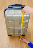 Hand luggage. Royalty Free Stock Images