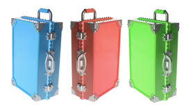 Hand Luggages. On White Background Royalty Free Stock Photo