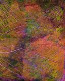 Hand målad akrylkonstbakgrund Royaltyfri Fotografi