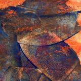 Hand målad akrylkonstbakgrund Royaltyfri Foto