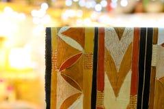 Hand målad batiktygmodell Fotografering för Bildbyråer