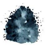 Hand målad vattenfärgbakgrund royaltyfri fotografi