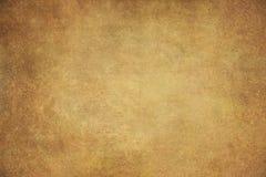 Hand-målade bakgrunder för kanfas guld arkivfoton