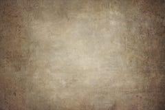 Hand-målade bakgrunder för Vignetting brunt arkivfoton