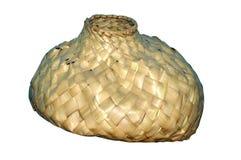 Hand made bali basket Royalty Free Stock Images