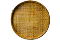 Hand made of bamboo. Basket is bamboo for hanmade Royalty Free Stock Photos