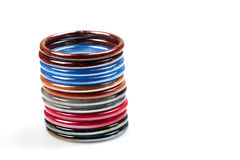 Hand-made bangles Royalty Free Stock Images