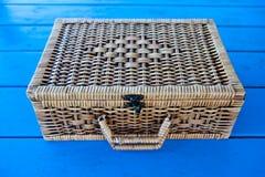 Hand made basket Stock Photos