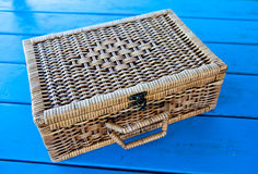 Hand made basket Stock Photography