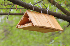 Hand made birdhouse Stock Photography