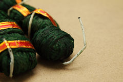 Hand Made Bomb. Indian Traditional Hand Made Bomb stock images