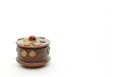 Hand-made box.  Stock Images