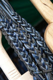 Hand made braided leather Royalty Free Stock Photography