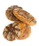 Hand made bread loaves Royalty Free Stock Photo