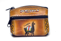 Hand Made Change Purse Peru Royalty Free Stock Photo